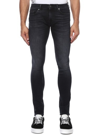 7 For All Mankind Jean Pantolon Siyah